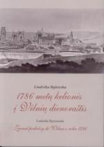 Byševska, Liudvika. 1786 metų kelionės į Vilnių dienoraštis. –  Vilnius, 2008. Knygos viršelis