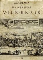 Academia et universitas Vilnensis. – Vilnius, 1979. Knygos viršelis