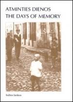 Atminties dienos = The  days of memory. – Vilnius, 1995. Knygos viršelis