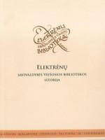 Bibliotekos istorija, viršelis
