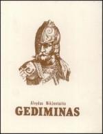 Nikžentaitis, Alvydas. Gediminas. – Vilnius, 1989. Knygos viršelis