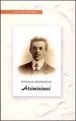 Krupavičius, Mykolas. Atsiminimai. – Vilnius, 2006. Knygos viršelis