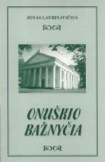 Onuškio bažnyčia. Knygos viršelis