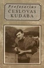 Profesorius Česlovas Kudaba. – Vilnius, 1996. Knygos viršelis