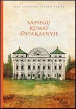 Janonienė, Rūta, Purlys, Evaldas. Sapiegų rūmai Antakalnyje. – Vilnius, 2012. Knygos viršelis