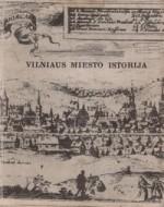 Vilniaus miesto istorija. T. 1. – Vilnius, 1968. Knygos viršelis