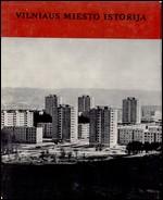 Vilniaus miesto istorija. T. 2. – Vilnius, 1972. Knygos viršelis