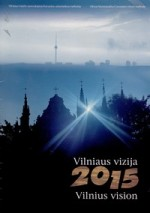 Vilniaus vizija 2015. – Vilnius, 1996. Knygos viršelis