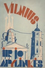 Juškaitis (Juškevičius), Adomas, Maceika, Juozas. Vilnius ir jo apylinkės. – Vilnius, 1937. Knygos viršelis