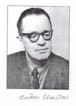Vladas Šlaitas. Nuotr. iš kn.: Vladas Šlatas: (1920-1995): bibliografijos rodyklė. - Ukmergė, 2005, p. 3.