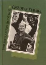 Česlovas Kudaba: bibliografijos  rodyklė. – Vilnius, 1998. Knygos viršelis