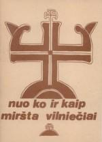 Nuo ko ir kaip miršta vilniečiai 1991. – Vilnius, 1992. Knygos viršelis