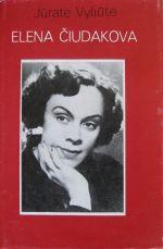 Vyliūtė, Jūratė. Elena Čiudakova. – Vilnius, 1983. Knygos viršelis