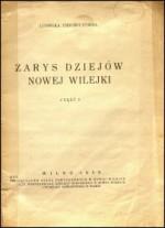 Ussowiczówna, Ludwika. Zarys dziejów Nowej Wilejki. - Cz. 1. - Wilno, 1939. Knygos viršelis