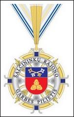 Šalčininkų rajono garbės  piliečio ženklas