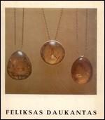 Feliksas Daukantas. – Vilnius, 1977. Knygos viršelis