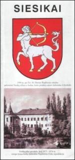 Siesikai. – [Vilnius], 1999. Lankstinio viršelis