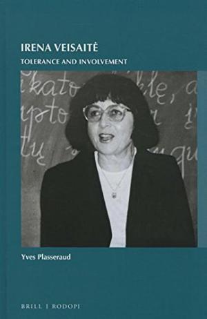 Plasseraud, Yves. Irena Veisaitė. Tolerance and Involvement. – Leiden, 2015. Knygos viršelis