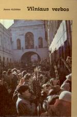 Kudirka, Juozas. Vilniaus verbos. - Vilnius, 1993. Knygos viršelis