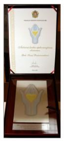 """""""Auksinės širdies"""" apdovanojimas"""