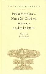 Prancisiaus ir Nastės Čibirų šeimos atsiminimai. Knygos viršelis