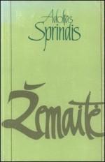 Sprindis, Adolfas. Žemaitė. – Vilnius, 1988. Knygos viršelis
