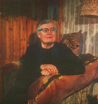 Elena Valerija Joneliūkštienė. Nuotr. iš leid.: Mūsų žodis. – 1987, Nr. 3, I viršelis