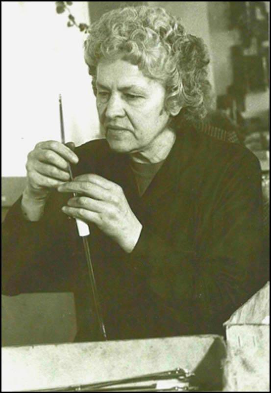 Janina Pipirienė. Nuotr. iš  LAB muziejaus fondų