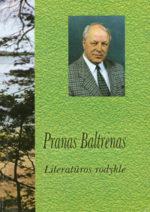 Pranas Baltrėnas. Literatūros rodyklė. - Vilnius, 2000. Knygos viršelis
